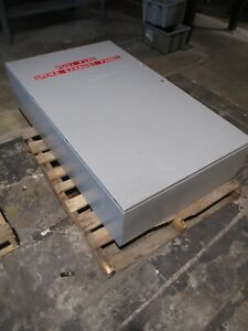 Hoffman Concept Type 4 12 Enclosure Csd603612 Size 60x36x12 Used