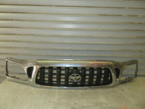 2001 2004 Toyota Tacoma Oem Chrome Radiator Grille Grill Factory 53100 04230 2