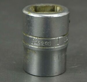 Vintage Snap On Ldh322 1 Shallow Socket 3 4 Drive 12 Point Made In Usa
