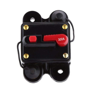 Anjoshi Circuit Breaker 300amp With Manual Reset Home Solar System Fuse Holde