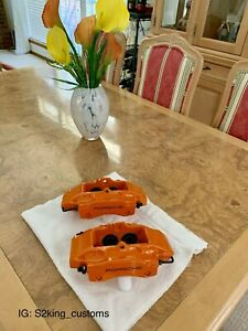 2000 2004 Porsche Boxster S Oem Rear 4 Pot Brake Calipers Fully Refinished