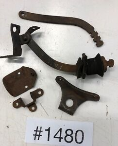 Ford Model A Horn Bracket Fr Back Door Stops Hood Tie Down Parts All In Pics