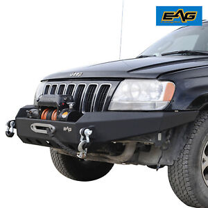 Eag Front Bumper Fit 1999 2004 Jeep Grand Cherokee Wj