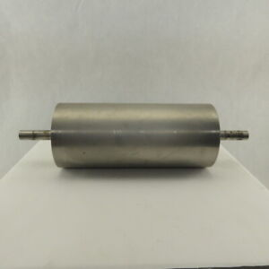 6 1 2 Od 15 Face Stainless Steel Conveyor Drum Roller Pulley 1 Shaft