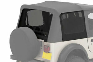Bestop 58120 15 Tinted Window Kit For Replace a top 1988 1995 Jeep Wrangler Yj