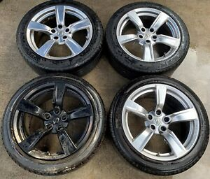 2009 Nissan 370z 18 Inch Wheels Rims W Tires Set Of 4 Ml7 Wh561