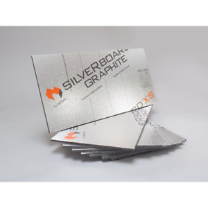 Silver Board Graphite Radiant Barrier Wall Insulation Kit Graphite Polystyrene