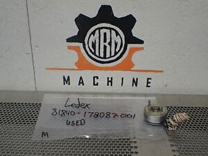 Ledex Inc 81840 178087 001 Rotary Solenoid Used With Warranty See All Pictures