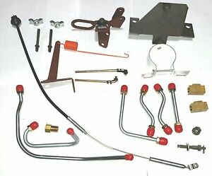 Mopar 1971 B E Body 440 6 Six Pack Installation Kit Cuda Challenger