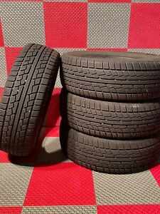 4x Used 195 65 R15 Achiles Winter 101x Snow Tires 8 32 195 65 15