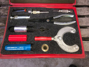 A c Air Conditioning Compressor Clutch Puller Removal Tools Kit Kent Moore