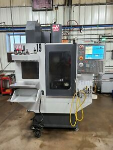 2016 Haas Dm 1 Vertical Machining Center 15 000rpm Spindle Renishaw Probe