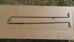 1966 1967 Pontiac Gto Lemans Tempest Chevelle 442 Rear Trunk Lid Springs Orig Gm