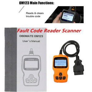 Portable Car Fault Code Reader Auto Diagnostic Scan Tool Monitor Vehicles Health