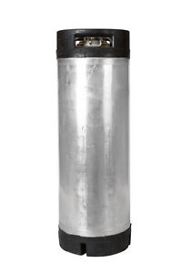 5 Gallon Ball Lock Keg Reconditioned Homebrew Beer Cold Brew Dual Handle