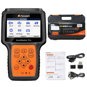 Foxwell Nt680 Pro Obd2 All System Diagnostic Scanner Dpf Epb Sas Srs Abs