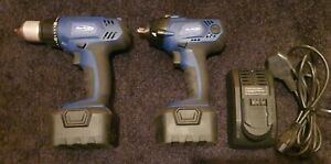 Blue Point 14 4v Impact Gun wrench drill Inc Charger batteries Need Referbing