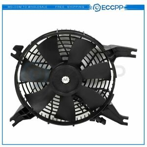 A c Condenser Cooling Fan Assembly For 2001 2002 2003 Mitsubishi Montero