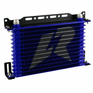 13 Row Universal Engine Oil Cooler Kit With Mounting Bracket For Janpan Car