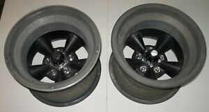 American Racing Nostalgia Mag Wheels 16 X 11 Olds Bolt Pattern 3 Back Space