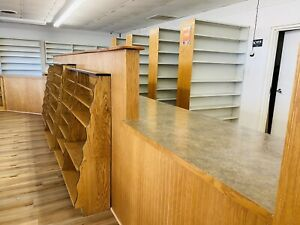 Complete Pharmacy Retail Custom Cabinets Counter Shelving Shelves Store Displays