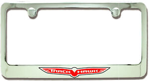 Jeep Trackhawk Chrome Plated Metal License Plate Frame Holder