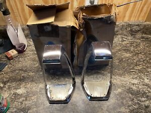 Nos 1966 Mercury Monterey Park Lane Marauder Tail Light Bezel Pair Lh Rh