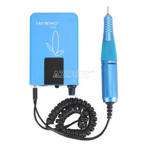 Dental Lab Polishing 25k Chargeable Portable Micromotor For High Speed Handpiece
