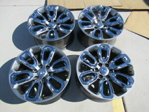 2021 Dodge Ram 1500 Limited Oem Factory 20 Wheels Rims Chrome Inserts 6x5 5
