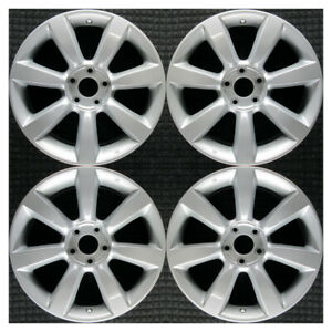 Set 2003 2004 2005 Infiniti Fx35 Q45 Oem Factory 18 Oe Silver Wheels Rims 73677