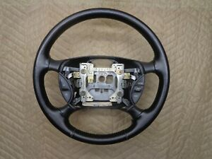 94 97 Ford Thunder Bird Steering Wheel Oem Black Leather Switches 95 96 T bird
