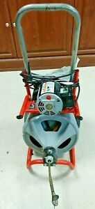 Used Ridgid K 400t2 Complete Drain Cleaning Machine 169975 1 Local Pick Up Only