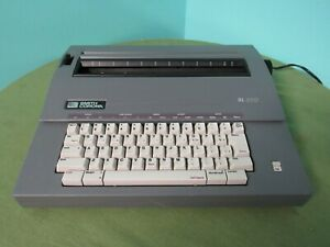 Smith Corona Sl 470 Portable Electric Typewriter No Cover As Is