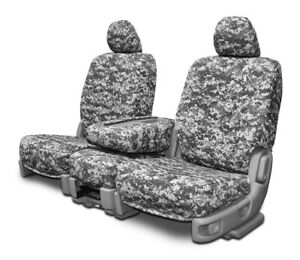 Custom Fit Camo Front Seat Covers For The 2001 2004 Toyota Tacoma