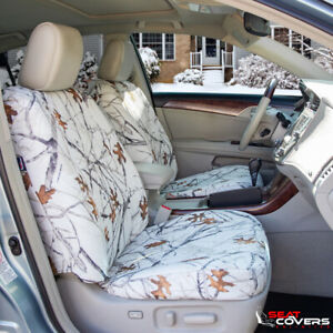 Custom Fit Camo Front Seat Covers For The 2009 2015 Toyota Tacoma