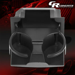 Center Console Bottle Cup Holder Inserts Liner For 2006 2019 Nissan Frontier