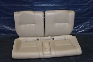 2005 06 Acura Rsx Type s K20z1 2 0l Oem Leather Rear Seats wear 4480