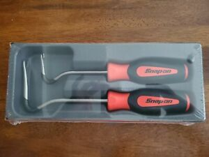New Sealed Snap On Asgp102a R 2 Piece Non Marring Orange Trim Pad Tool Set