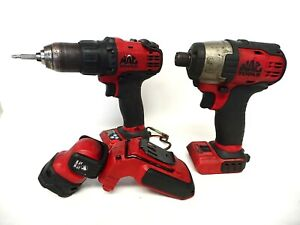 Mac Tools Mcf886 Impact Driver Bdp050 Drill Driver Mcl044 Light Tools Only