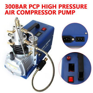 30mpa High Pressure Air Compressor Electric Air Gun Rifle Pcp Pump 4500psi 220v