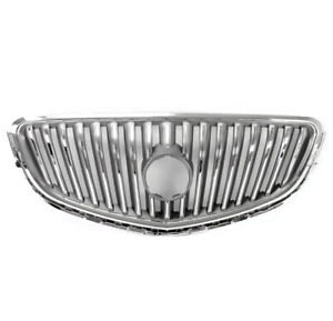 For 2012 1017 Buick Verano Front Bumper Radiator Hood Chrome Upper Grille Grill
