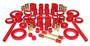Prothane 94 98 Ford Mustang Complete Total Suspension Bushings Red Kit