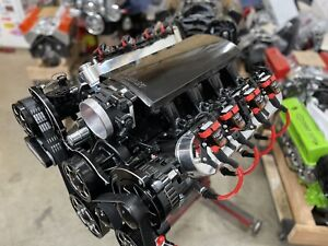 Chevy 6 2ls 640 Hp Complete Crate Engine Pro built Trick Flow Cnc Heads Ls Ls