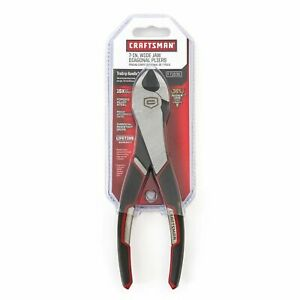 Craftsman 7 Wide Jaw Diagonal Pliers Wire Cutters 71636 New Factory Sealed