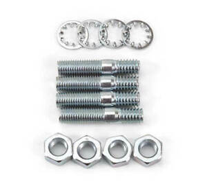 Edelbrock 8008 Performer Thunder 1 1 2 Carburetor Stud Kit