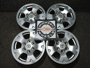 Toyota Tacoma Tundra 16 Wheels 6 Lug Factory Oe Aluminum 16x7 Great Winter Set