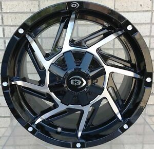 4 Wheels For 17 Inch Dodge Ram 1500 2007 2008 2009 2010 2011 2012 Rims 1829