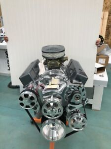 350 R Street Crate Engine 465hp Roller Turnkey A c Sbc New Gm 4 Bolt Block Look