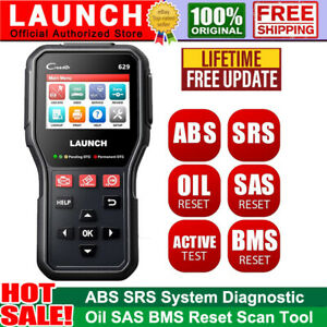 Launch Cr629 Car Engine Abs Srs Obd2 Code Reader Scanner Auto Diagnostic Tool