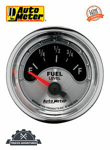 Autometer 1214 American Muscle Fuel Level Gauge